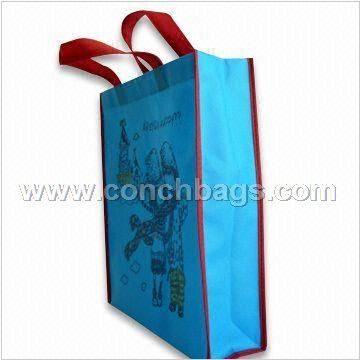 PP Non woven Bag, Ideal for Shopping, Shoe Packing, and Leather Handbag Packing