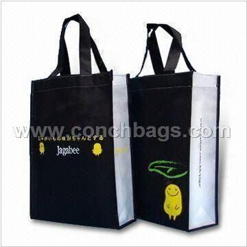 Non-woven Tote Bag with Silkscreen Printing