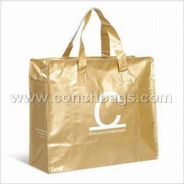 PP Woven Shopping Bag with Colorful Printing