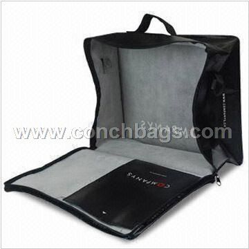 Non-woven PP Briefcase with Zip on Closure