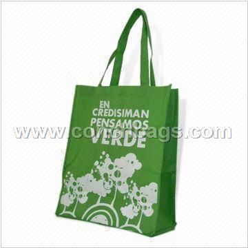 Non-woven Bag with Light Green