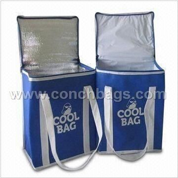 Cooler Bags, Made of 600/420/300D Polyester with Aluminum Foil Pearl Lining