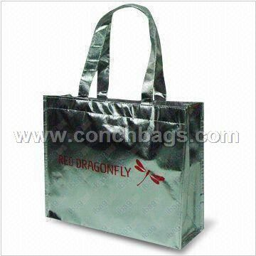 Nonwoven Gift Bag with Laser Lamination