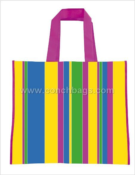 Non-woven laminated bag for shopping